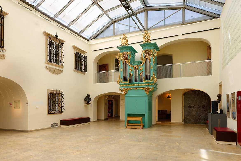 Landesmuseum Aula, © KBB
