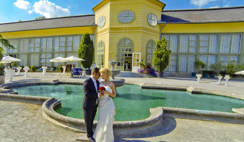 Hochzeit in der Orangerie, © KBB